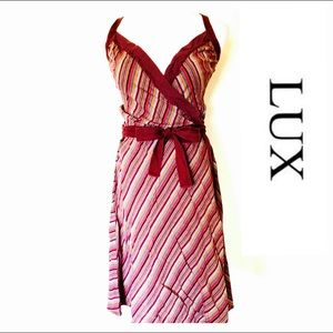 Lux Wrap Dress